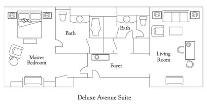 Floorplan | City View Suite | The Ritz-Carlton New York, Central Park