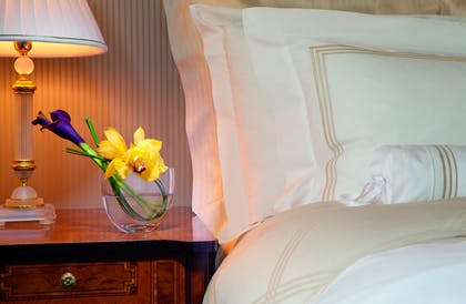 Bedroom | Parkview Suite + City View Guest Room | The Ritz-Carlton New York, Central Park