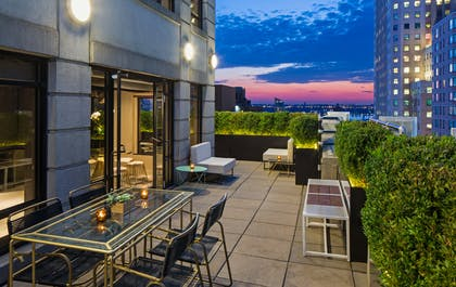 Terrace | Penthouse Suite | The Time New York