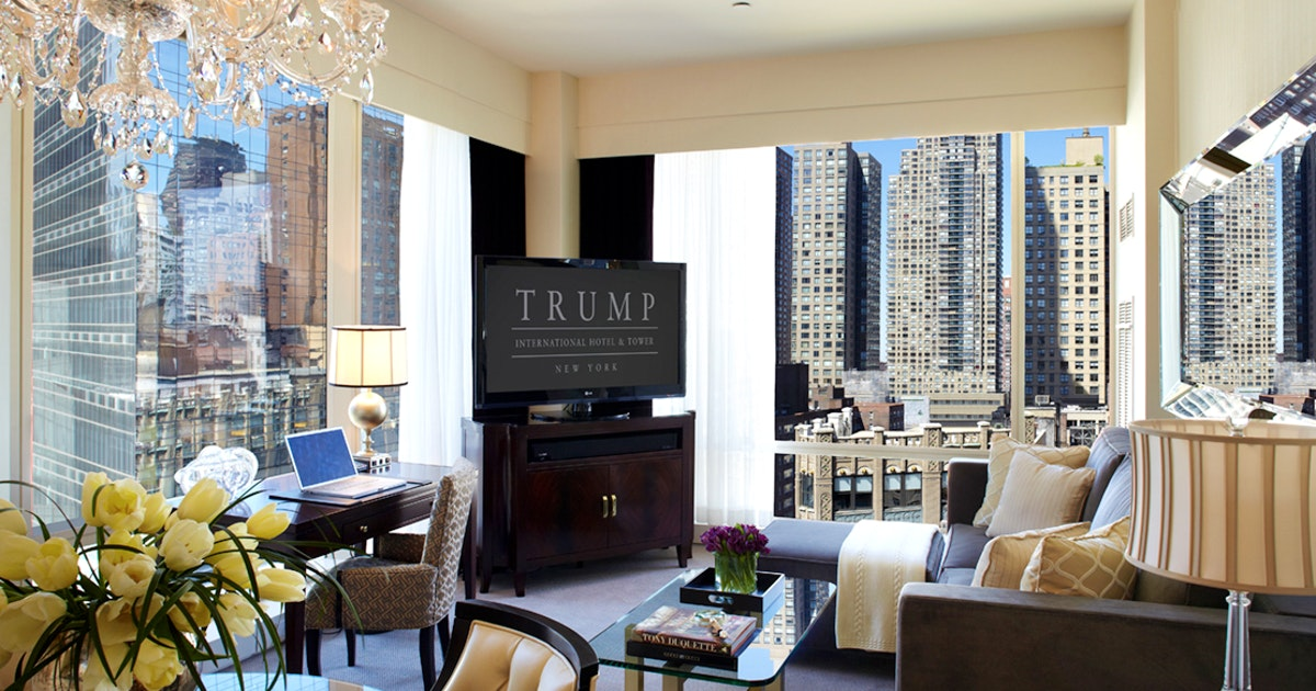 Executive City View Suite At Trump International Hotel