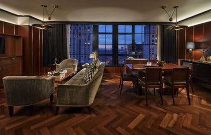 Living Room | Suite 57 | Viceroy New York