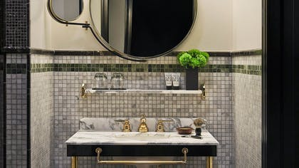 Bathroom | Viceroy Junior Suite + Viceroy Deluxe Double | Viceroy New York