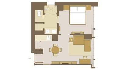 Floorplan | Viceroy Park Suite | Viceroy New York