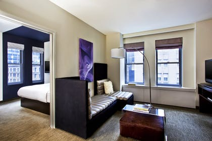 Living Room and Bedroom | Fantastic Suite | W New York