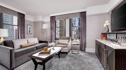 Living room | One Bedroom Suite + One King | WestHouse New York