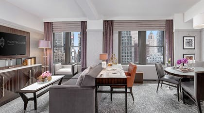 Living Room | Prestige Suite | WestHouse New York