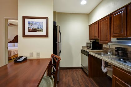 Kitchen   1 King 2 Queen Beds 2 Bedroom 2 Bath Suite   Homewood Suites by Hilton Charleston Airport