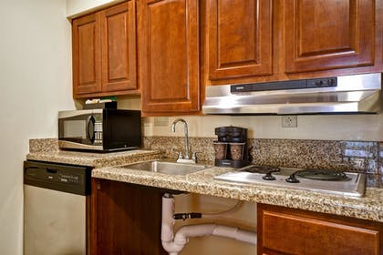 Kitchen 2 | 1 King Bed 1 Bedroom Suite | Homewood Suites by Hilton Charleston Airport