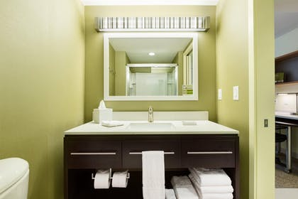 King Bedroom Suite Bathroom | Home2 Suites by Hilton Omaha West, NE