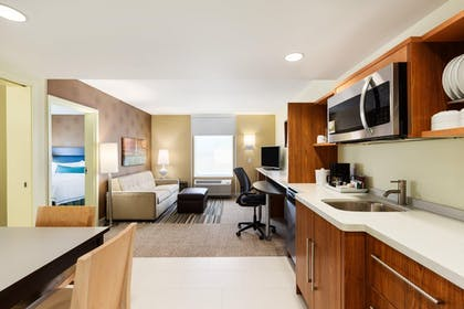 King Bedroom Suite | Home2 Suites by Hilton Omaha West, NE