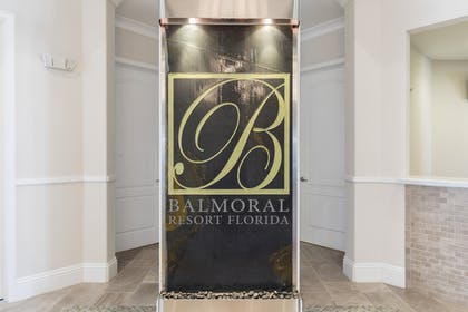 Balmoral Sign. | Balmoral Resort Florida
