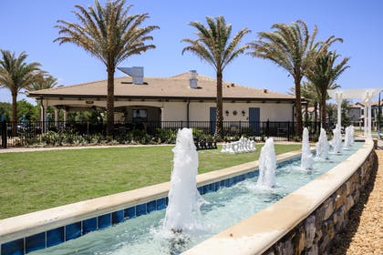 Clubhouse Fountain | Balmoral Resort Florida