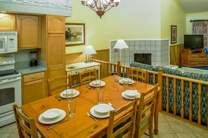 Dining Room | Two Bedroom Suite | Bryan's Spanish Cove
