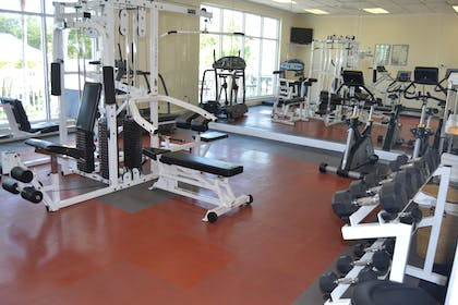 Fitness Center | Cypress Pointe Resort