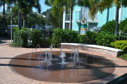 Kids Splash Pad | Cypress Pointe Resort