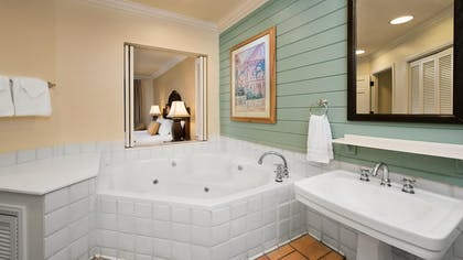 Bathroom | One Bedroom Villa | Disney's Old Key West Resort