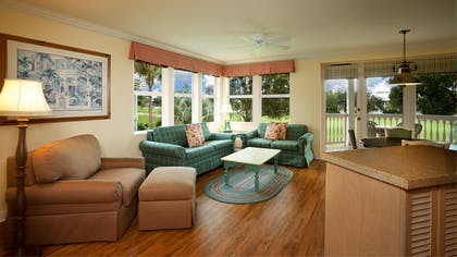 Living Room | One Bedroom Villa | Disney's Old Key West Resort
