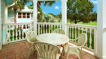 Patio | One Bedroom Villa | Disney's Old Key West Resort