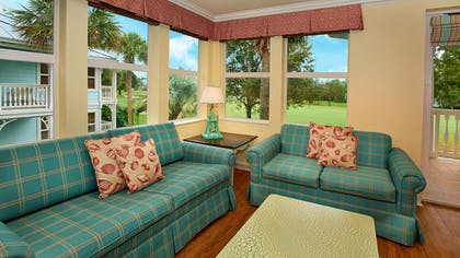 Seating Area | One Bedroom Villa | Disney's Old Key West Resort