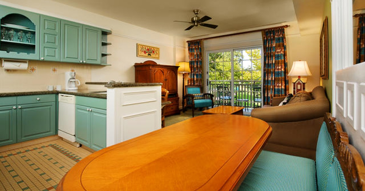 One bedroom villa at disney 39 s saratoga springs resort - 2 bedroom villas near disney world ...