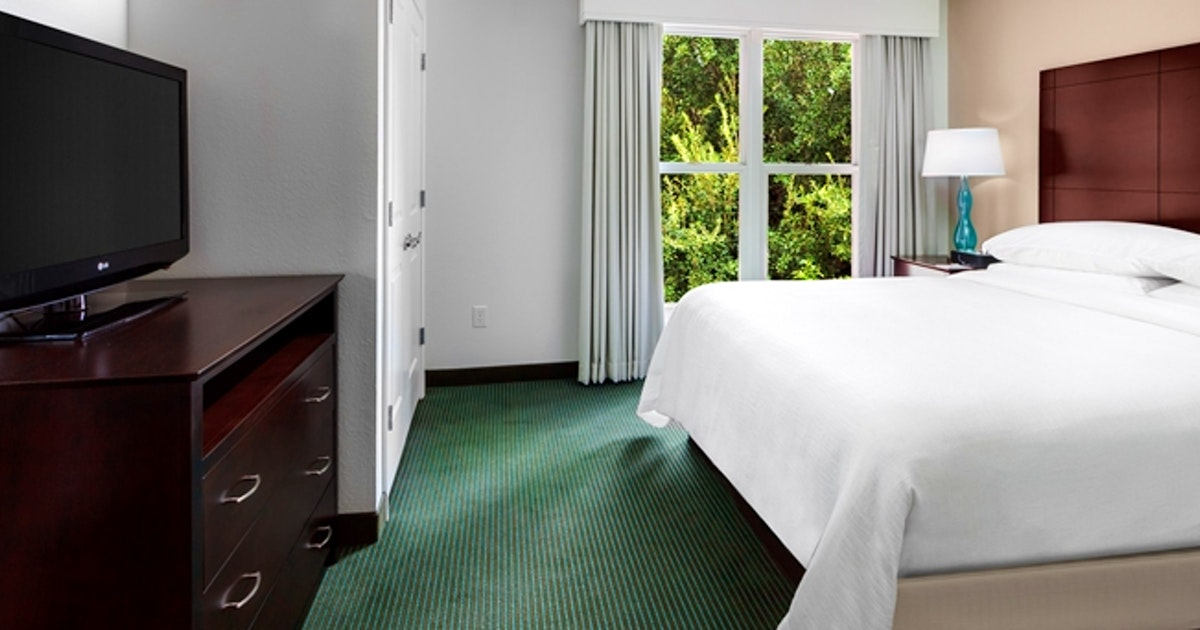 2 Room Suite-1 King Bed-Balcony at Embassy Suites by Hilton Orlando Lake Buena Vista Resort ...