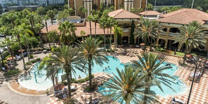 Pool from above | Floridays Resort