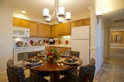 Kitchen and Dining | One Bedroom Suite | Grand Beach