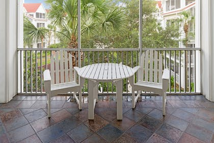 Patio | Three Bedroom Suite | Grand Beach