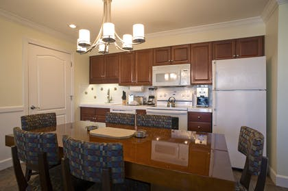 Dining and Kitchen | Two Bedroom Suite | Grand Beach