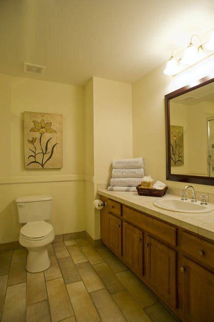 Bathroom | One Bedroom Suite | Grand Beach