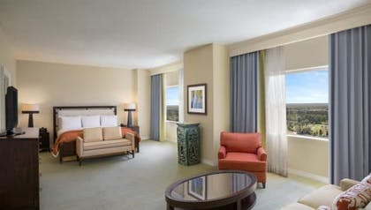 Bedroom | Presidential Suite | Hilton Orlando Bonnet Creek Resort