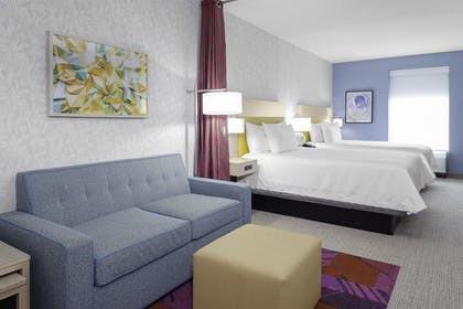 Double queen.jpg | 2 Queen Beds Studio Suite | Home2 Suites by Hilton Orlando South Park