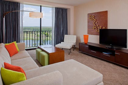 Living Room | Executive Suite + Buena Vista King | Hyatt Regency Grand Cypress