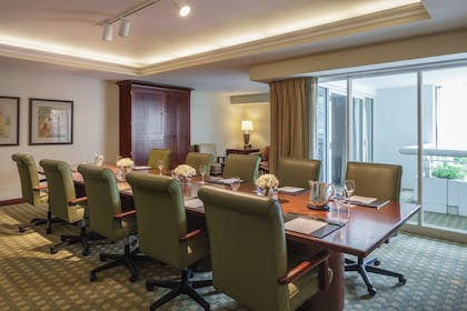 Conference Table | Conference Parlor Suite | Queens | Hyatt Regency Orlando International Airport