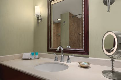Bathroom Vanity | VIP Suite + Two Queen Room | Hyatt Regency Orlando International Airport