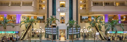 Hotel grounds  | Hyatt Regency Orlando International Airport