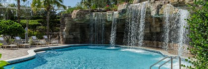 Pool waterfall  | Hyatt Regency Orlando