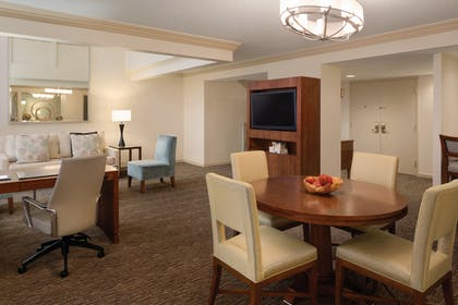Dining and Living Room 1 | One Bedroom Presidential Suite | Hyatt Regency Orlando
