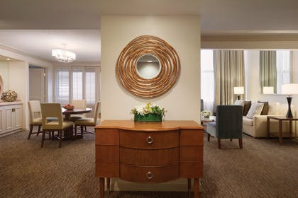 Dining and Living Room 2 | One Bedroom Presidential Suite | Hyatt Regency Orlando