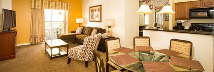 Living room | Two Bedroom Firework View Suite | Lake Buena Vista Resort Village & Spa