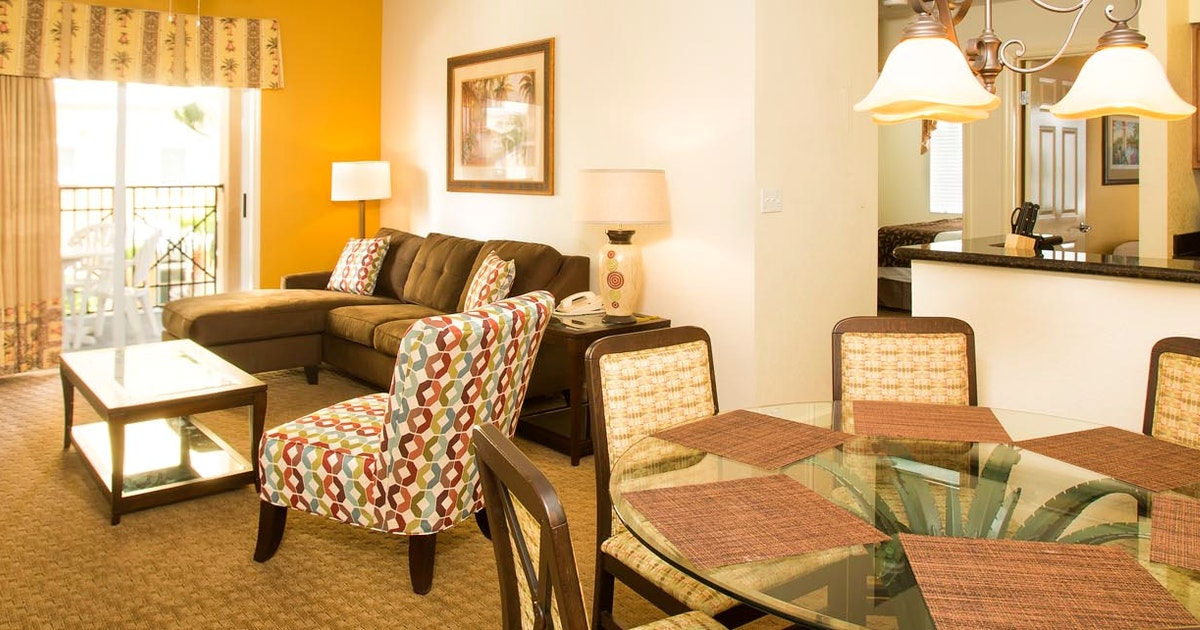 Two Bedroom Firework View Suite At Lake Buena Vista Resort