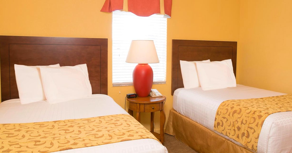 Two bedroom suite at lake buena vista resort village spa suiteness more bedrooms at the for Orlando 2 bedroom suite hotels