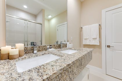 Bathroom | 3 Bedroom Villa Pool View with BBQ & Jacuzzi | Magic Village Yards