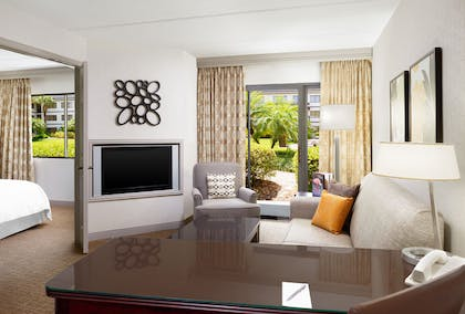 Living Room  | Standard Suite | King  | Sheraton Suites Orlando Airport