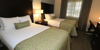 Guest bedroom | Trio Two Bedroom Pool View Suite | Staybridge Suites Lake Buena Vista