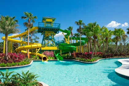 Pool Slide Overall | The Grove Resort & Spa Orlando