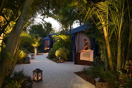 Poolside Cabana Massage | The Grove Resort & Spa Orlando