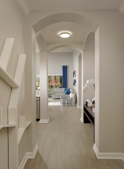 Hallway Entrance | 1 Bedroom 1 Bath Deluxe View | The Grove Resort & Spa Orlando