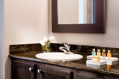 Bathroom amenities | 2 Bedroom 2 Bath Resort View | The Grove Resort & Spa Orlando