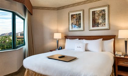 image 1.jpg | 2 Room Business Suite 1 King Bed with Breakfast | DoubleTree Suites by Hilton Hotel Phoenix